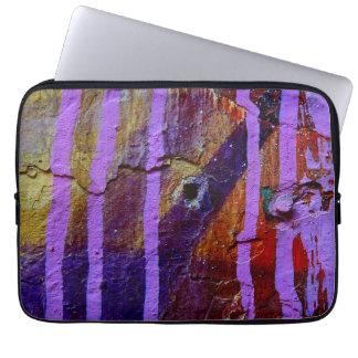 Purple laptop sleeve. laptop sleeve