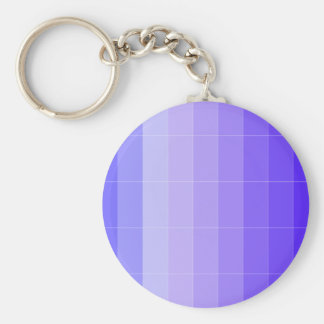 Purple Lavender Color Only Customizable Keychain