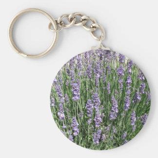 Purple Lavender Delight Key Ring