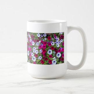 Purple & Lavender Flowers: Coffee Mug
