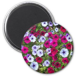 Purple & Lavender Flowers: Magnet
