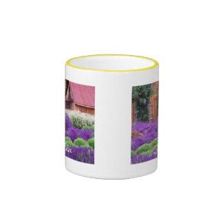 Purple Lavender Italia Ringer Mug