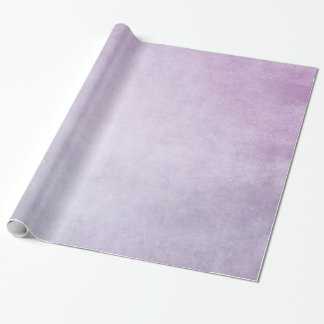 Purple Lavender Watercolor Personalized Background Wrapping Paper