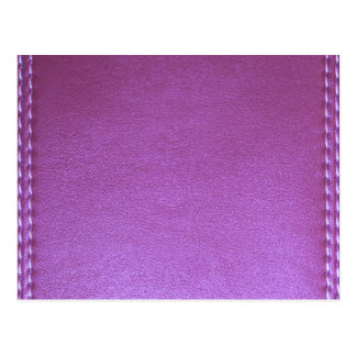 Purple Leather finish Template add TEXT n IMAGE 99 Postcard