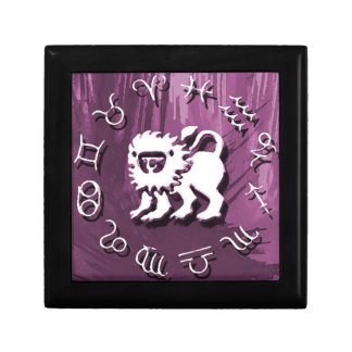 Purple Leo Jewelry/Gift Box