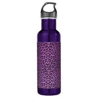Purple Leopard 710 Ml Water Bottle