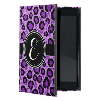 Purple Leopard Animal Print Personalized Case Covers For iPad Mini