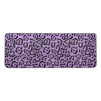 Purple Leopard Animal Print Wireless Keyboard