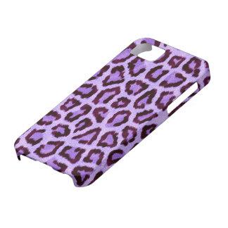 Purple Leopard iPhone 5 Cover