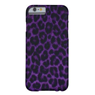 Purple Leopard iPhone 6 case