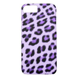 Purple Leopard Print Case