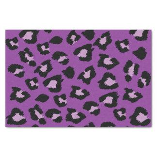 Purple Leopard Print Tissue Paper