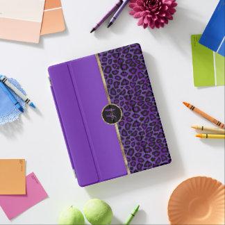 Purple Leopard Skin iPad Cover