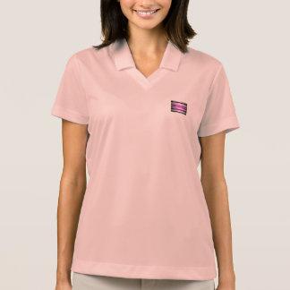Purple Light Art Polo Shirt