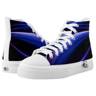 Purple Light Sneakers