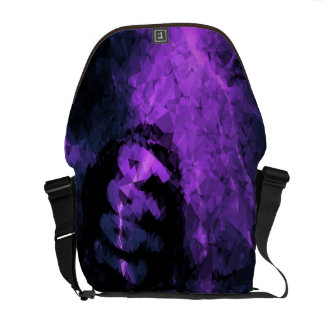 Purple Lightning Crack Vintage 1999 Courier Bags
