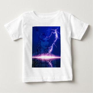Purple lightning indian maiden.jpg baby T-Shirt