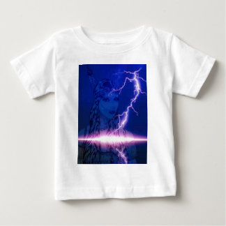 Purple lightning indian maiden.jpg tees