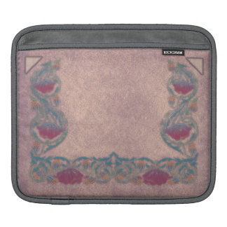 Purple-Lilac flower iPad Sleeve