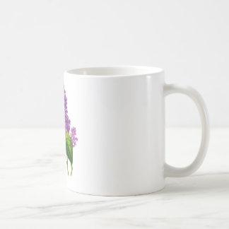 Purple Lilacs by Pierre-Joseph Redoute Coffee Mugs