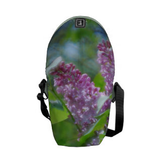 Purple Lilacs Courier Bags