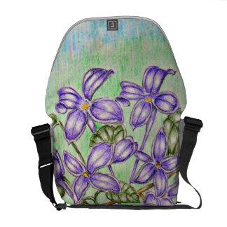 Purple Lilacs Commuter Bags