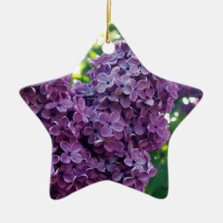 Purple Lilacs Ornament