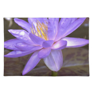 Purple lily placemat