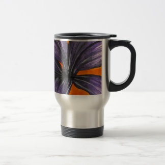 Purple Lily Travel Mug