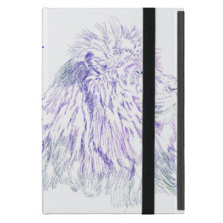 Purple Lion ~ Customizable iPad Case