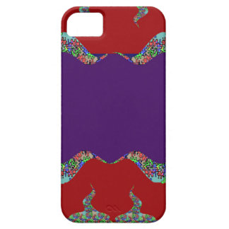 Purple LIPS: Space to add text Greeting Name Bless iPhone 5 Covers
