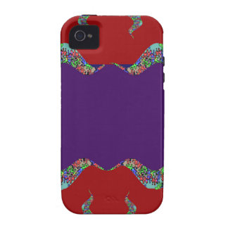 Purple LIPS: Space to add text Greeting Name Bless iPhone 4 Cover
