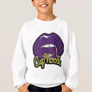 Purple Lips Sweatshirt