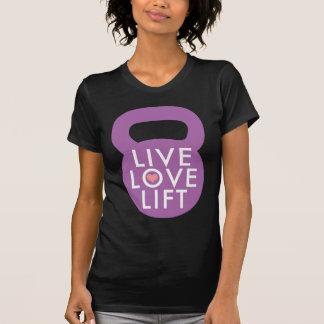 Purple Live Love Lift Tee Shirt