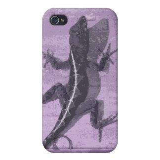 Purple Lizard iPhone4 Case iPhone 4/4S Covers