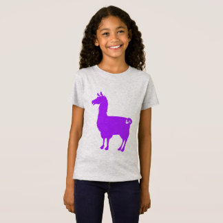 Purple Llama Kids T-Shirt