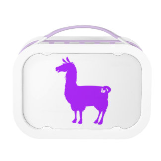 Purple Llama Lunch Box