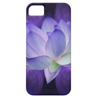 Purple Lotus and sacred geometry iPhone 5 Covers