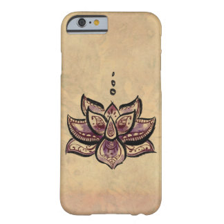 Purple Lotus Flower iPhone 6 case