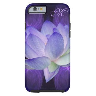 Purple lotus flower Personalize Tough iPhone 6 Case