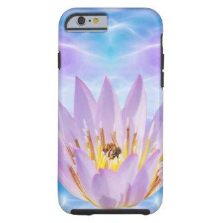 Purple Lotus flower Tough iPhone 6 Case