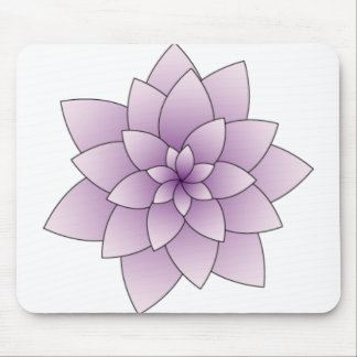 Purple Lotus Mousepad