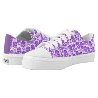 Purple Low Top Skulls