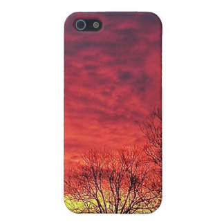 purple Magestic Sky iPhone 5 Cases