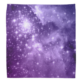 Purple Magic Stars Bandana