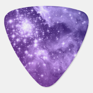 Purple Magic Stars Plectrum