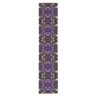 Purple Magical Snowflake Table Runner