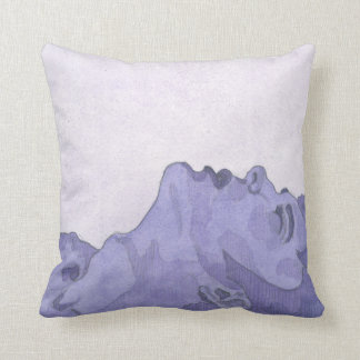 Purple Man Pillow