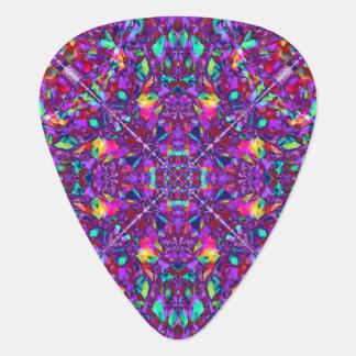 Purple Mandala Hippie Pattern Plectrum