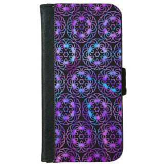 Purple Mandala iPhone wallet case
